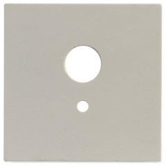 Set 5 stuks centraalplaat geboord Niko kleur 101 voor SEN01MW