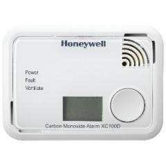 CO-melder Honeywell met LCD beeldscherm