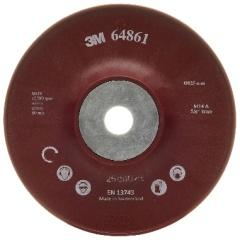 FIBER DISC BACK UP PAD RIBBED - 125 mm