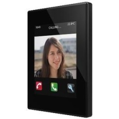 Touch Panel Z41 COM plastic frame (zwart