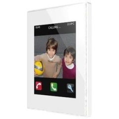 Touch Panel Z41 COM plastic frame (wit)