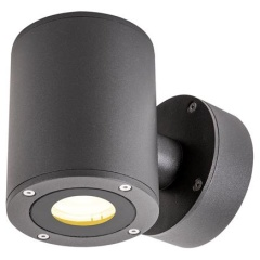 Sitra Up/Down WL LED outdoor wandopbouwlamp antraciet IP44 3000K 9W