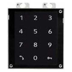 Zennio GetFace IP - Touch Keypad Module (Zwart)