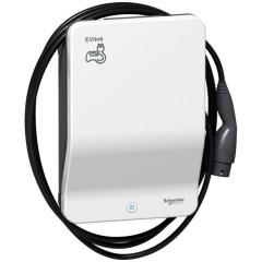 Laadpaal - EVlink Wallbox Plus - 22 kW - bevestigde kabel T2 - laadstation