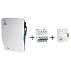 Laadpaal - Kit 1 laadpunt Smart wallbox G4 - 20A - 4P - 11kW