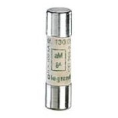 Cilindrisch smeltpatroon aM 10x38 20A HPC zonder slagpin 400V 100kA